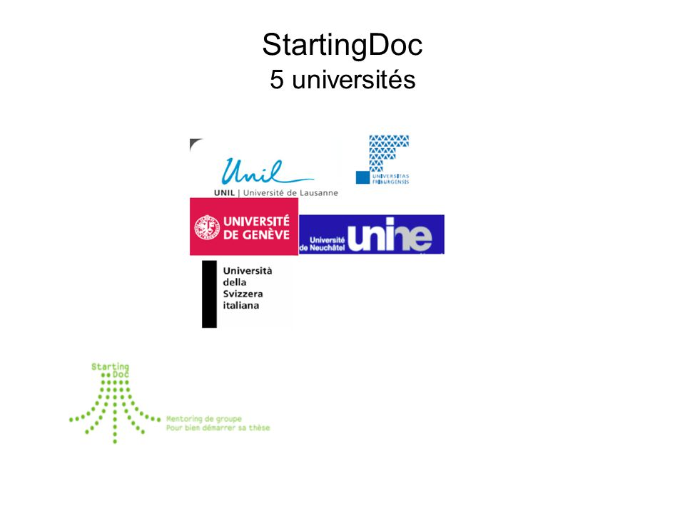 StartingDoc 5 universités