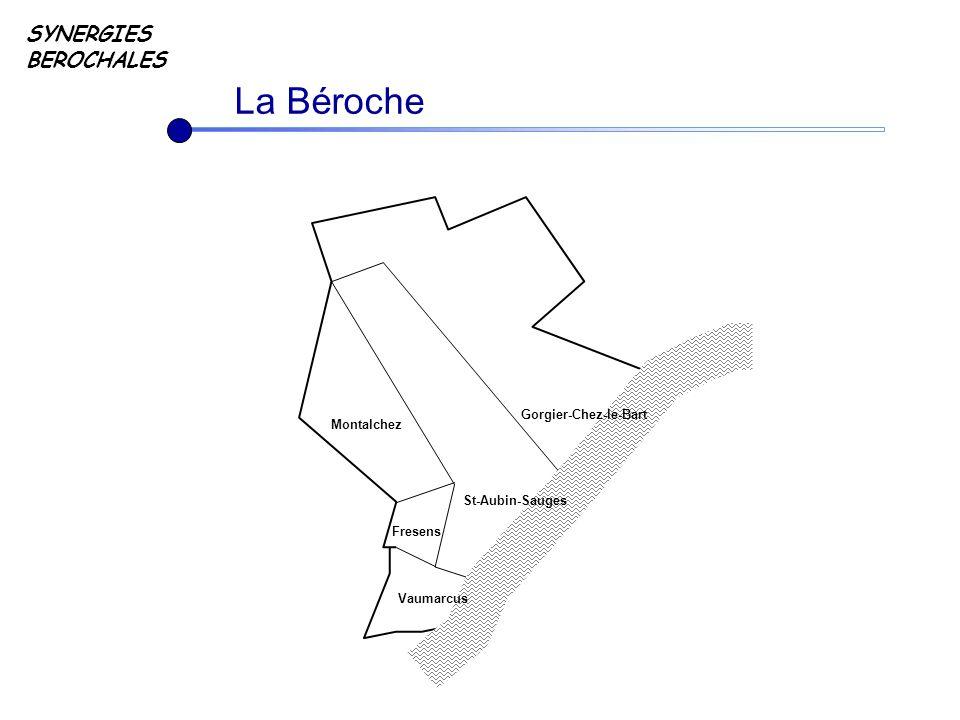La Béroche SYNERGIES BEROCHALES Fresens Montalchez Vaumarcus St-Aubin-Sauges Gorgier-Chez-le-Bart