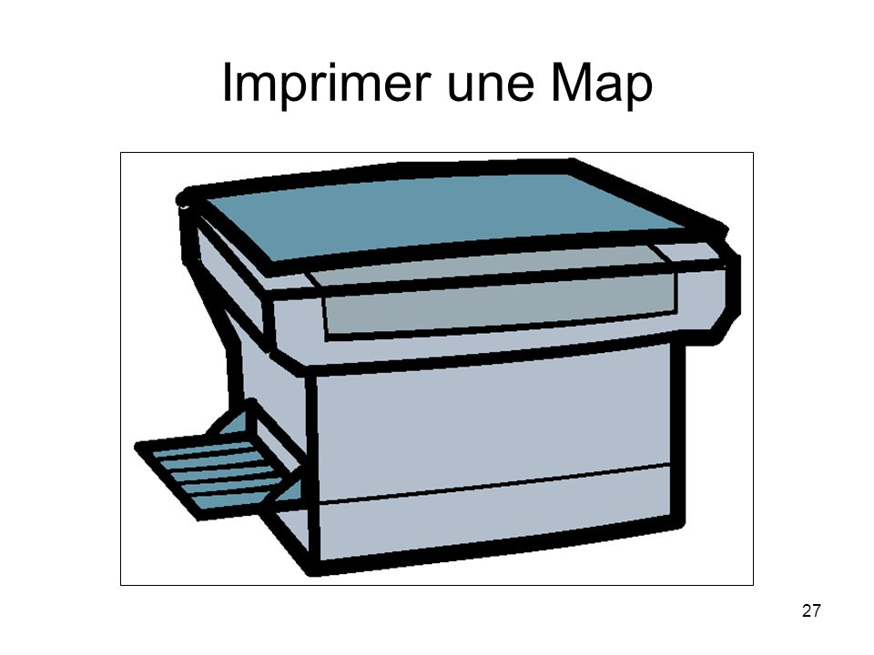 27 Imprimer une Map