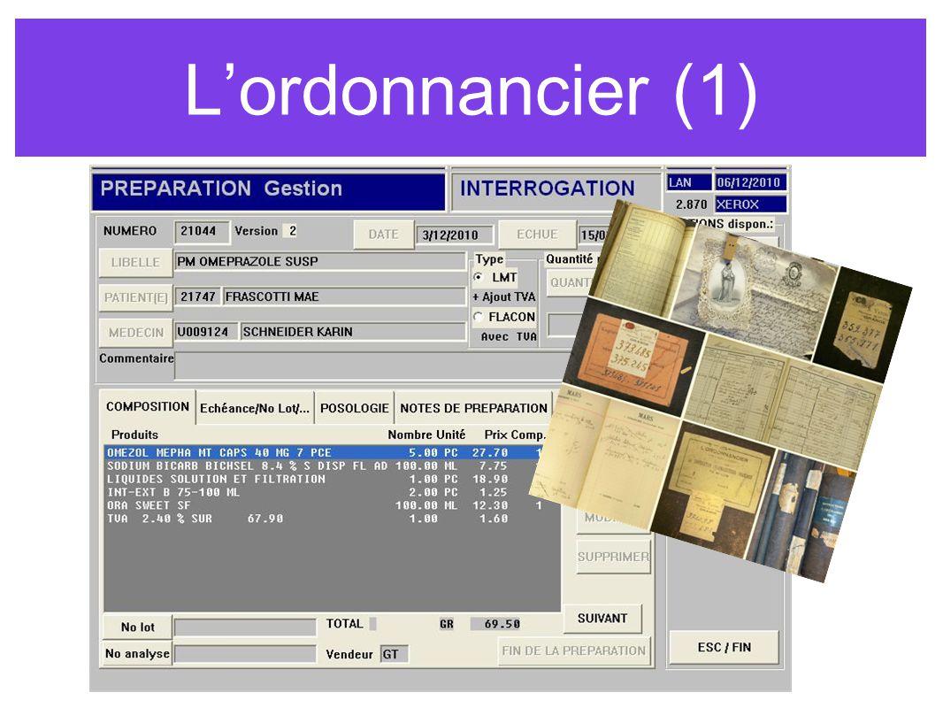 Lordonnancier (1)