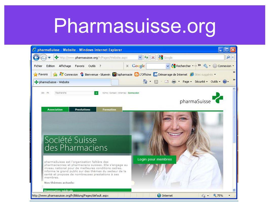 Pharmasuisse.org