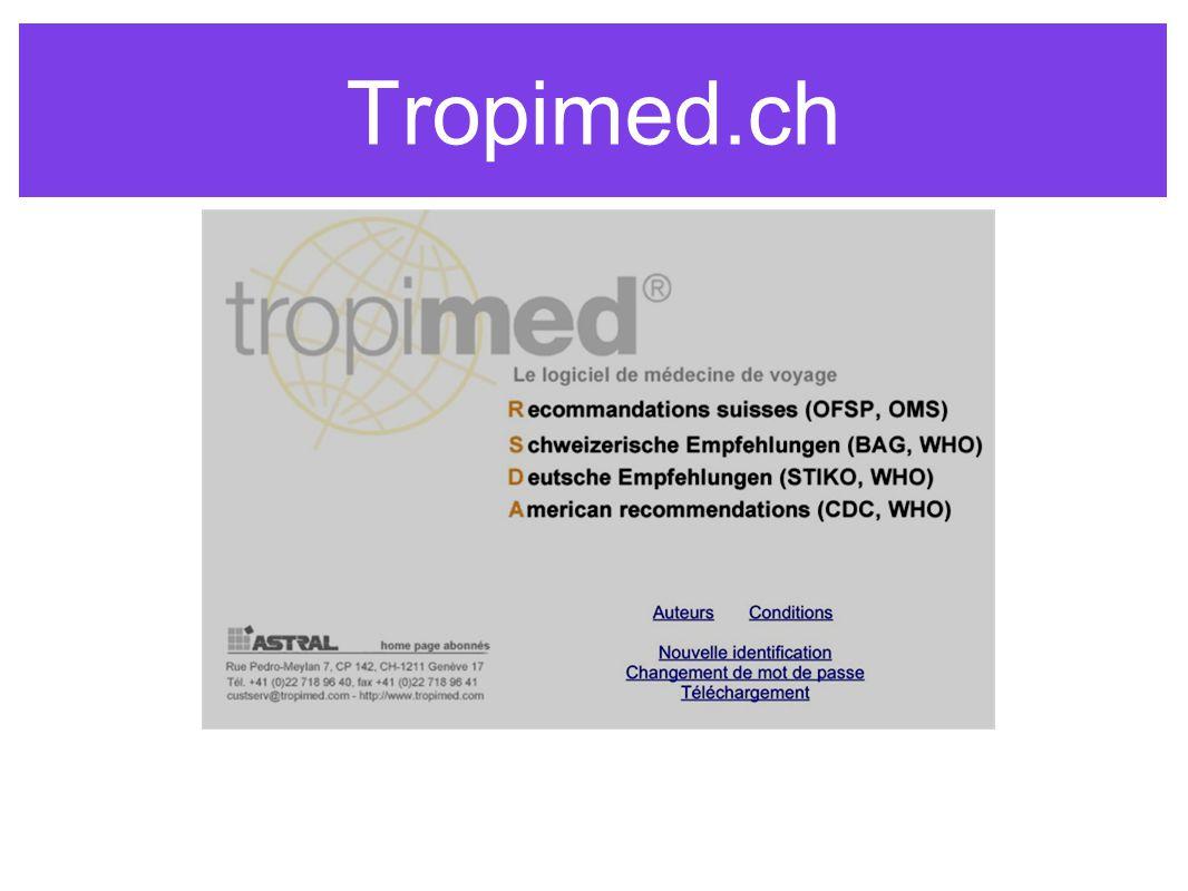 Tropimed.ch
