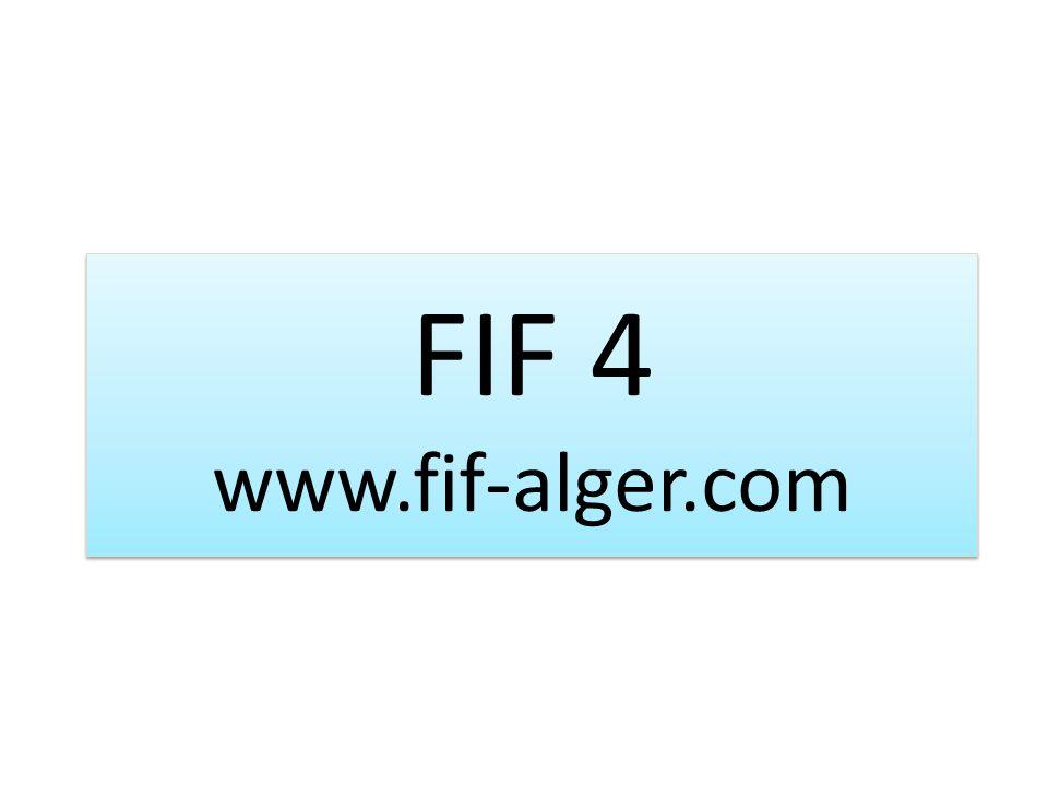 FIF 4 www.fif-alger.com