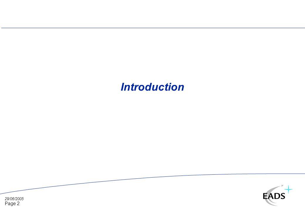 29/06/2005 Page 3 Applications visées l Domaines dapplication ð Imagerie HR visible aérienne et satellitaire ð Scènes variées : zone rurales et urbaines, aérodromes ð Objets déplaçables : véhicules, avions l Nature des applications ð Détection et discrimination automatiques ð Reconnaissance suivant un niveau de classification a priori è Ex : véhicule léger, camion moyen, avion de tourisme, avion de transport ð Couplage détection et reconnaissance è Recherche dun modèle de classe dans limage