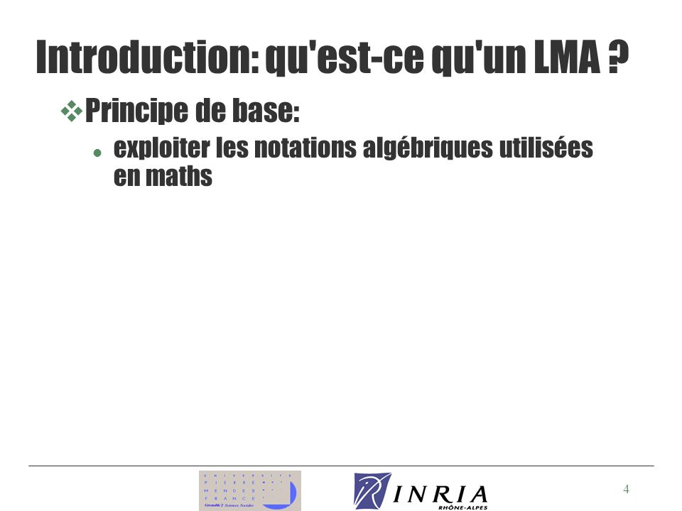 15 Equations (suite) Forme (rappel) : x 1 1 (D 1 ) x 2 2 (D 2 )...