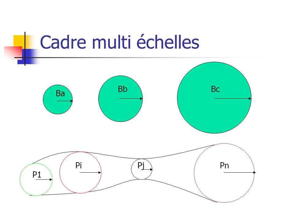 Cadre multi échelles P1 PiPjPn Ba BbBc