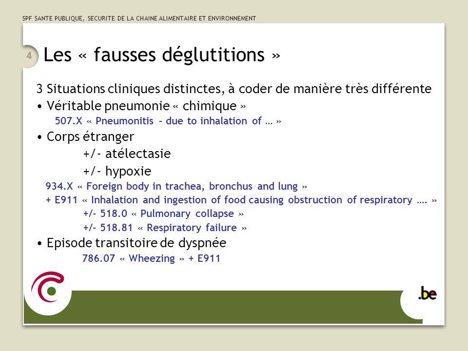SPF SANTE PUBLIQUE, SECURITE DE LA CHAINE ALIMENTAIRE ET ENVIRONNEMENT 15 Procédures de lappareil respiratoires Biopsies Par voie endoscopique – Biopsies des bronches : 33.24 « Closed endoscopic biopsy of bronchus » – Biopsies du poumon : 33.27 « Closed endoscopic biopsy of lung » – Lavage broncho-alvéolaire : A visée diagnostique : 33.24 « Closed endoscopic biopsy of bronchus » (!correction à apporter dans les notes) A visée thérapeutique (protéinose alvéolaire): 33.99 « Other operations of lung » Par voie thoracoscopique ou chirurgicale – Biopsies du poumon : 33.28 « Open biopsy of lung » Par voie transthoracique – Ponction transthoracique : 33.26 « Closed percutaneous biopsy of lung »