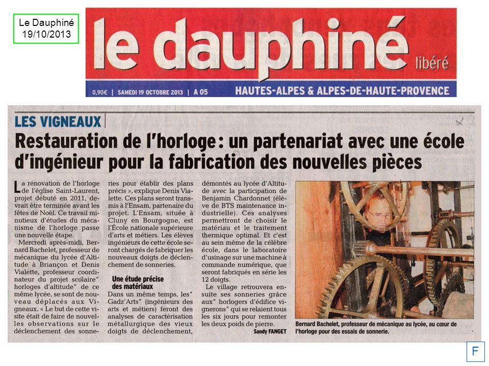 F Le Dauphiné 19/10/2013