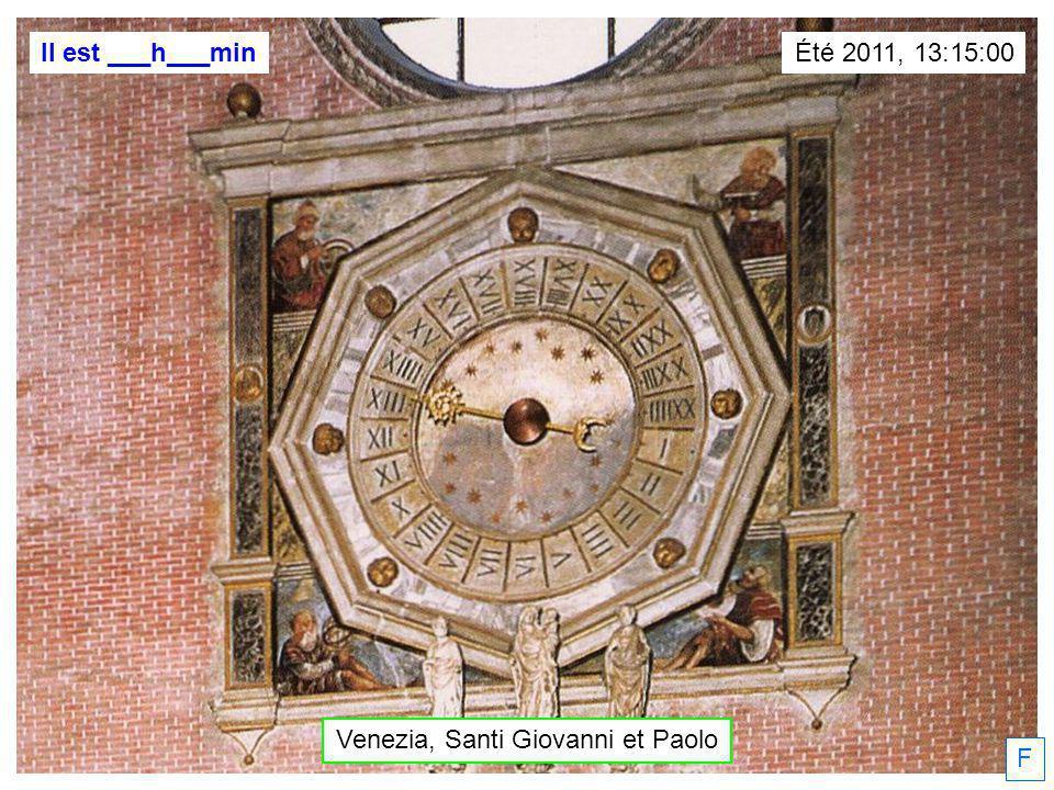 F Il est ___h___min Padova Daniel Fonlupt, 19/01/2012