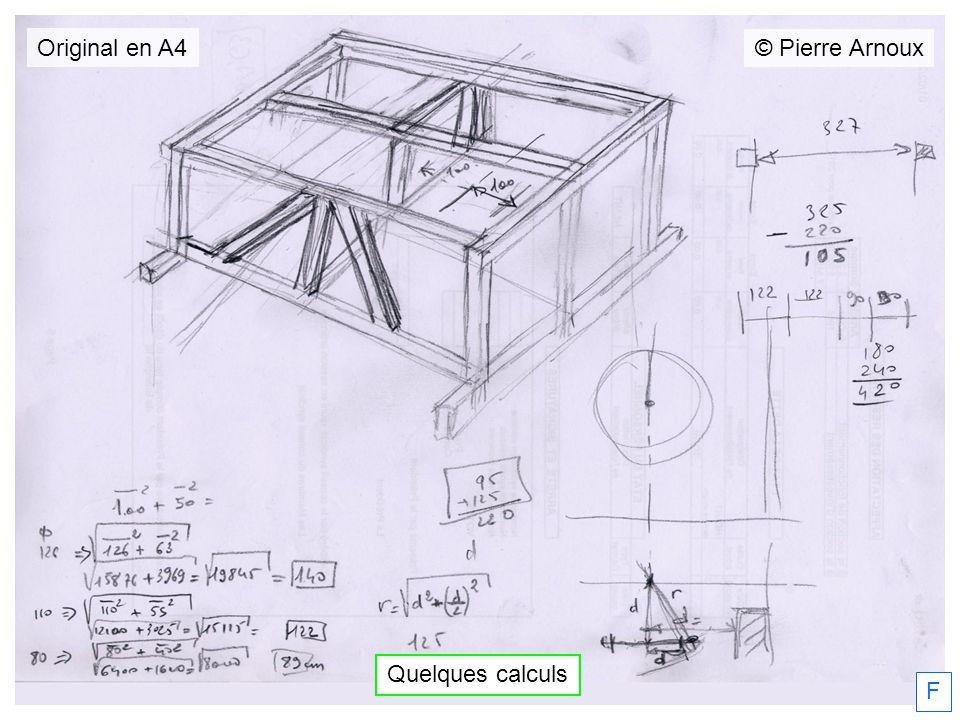 Quelques calculs F © Pierre Arnoux Original en A4
