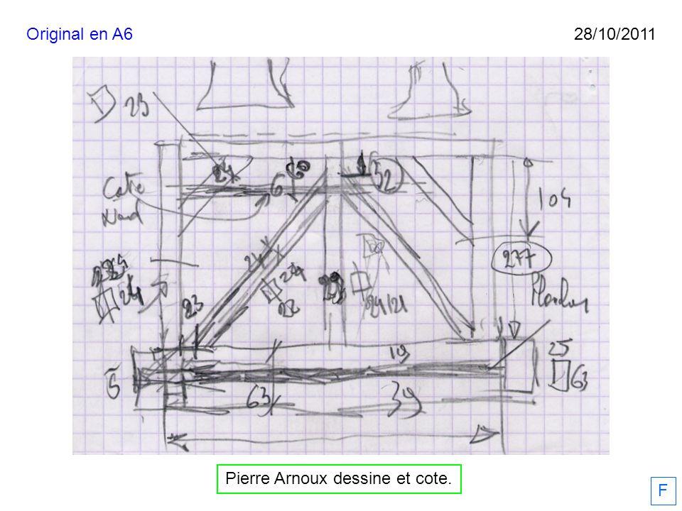 Pierre Arnoux dessine et cote. 28/10/2011 F Original en A6