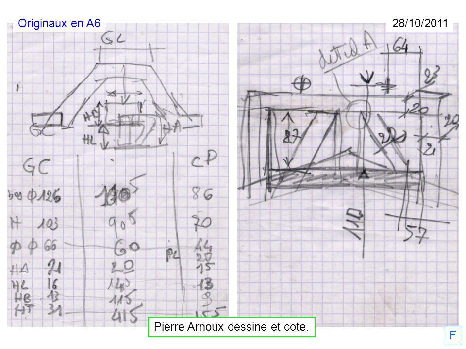 Pierre Arnoux dessine et cote. 28/10/2011 F Originaux en A6