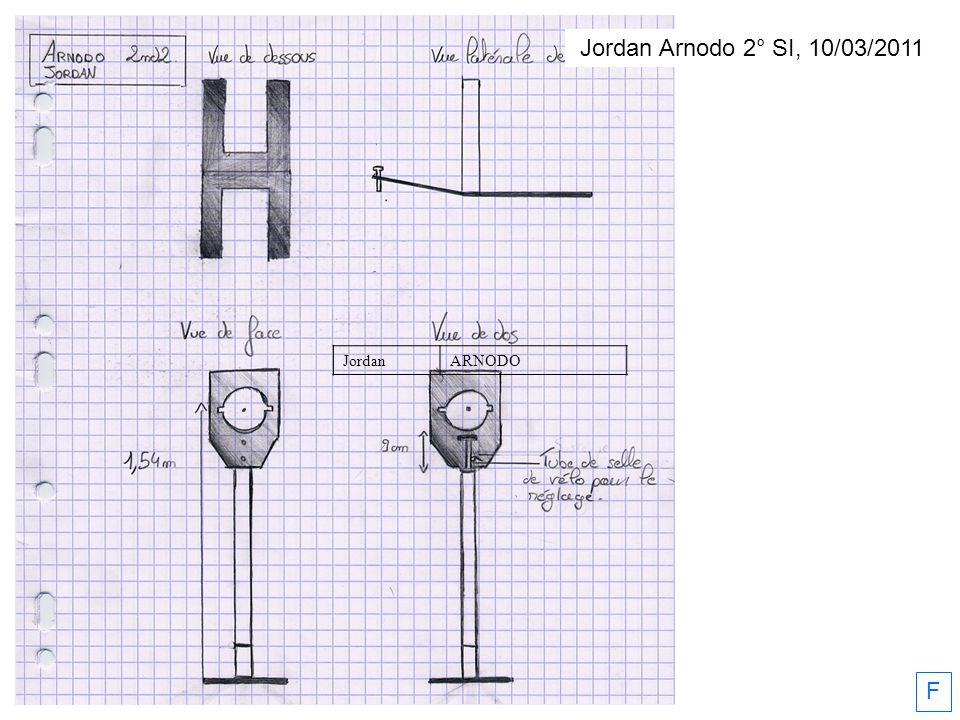 Jordan Arnodo 2° SI, 10/03/2011 JordanARNODO F