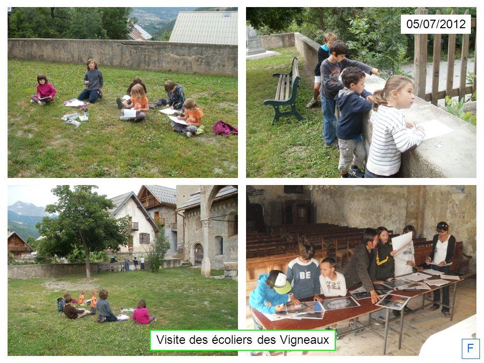 05/07/2012 Visite des écoliers des Vigneaux F