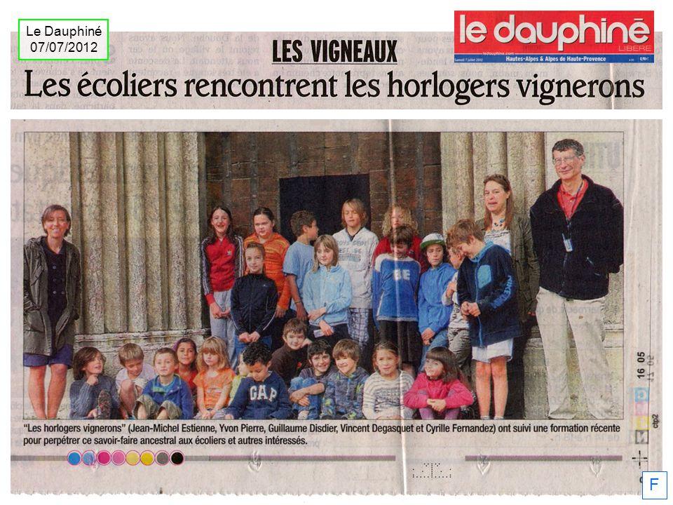Le Dauphiné 07/07/2012 1986 la# F