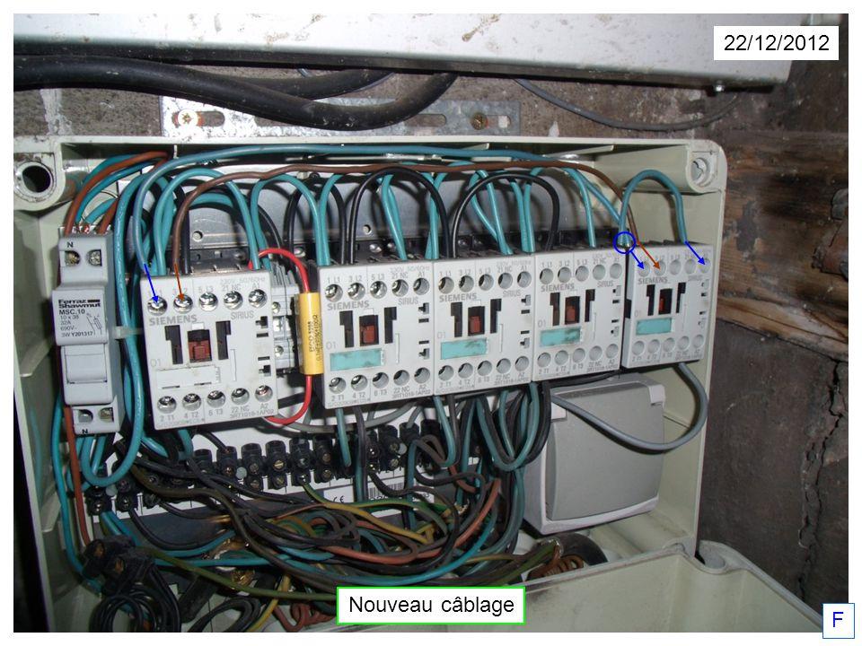 22/12/2012 F Nouveau câblage