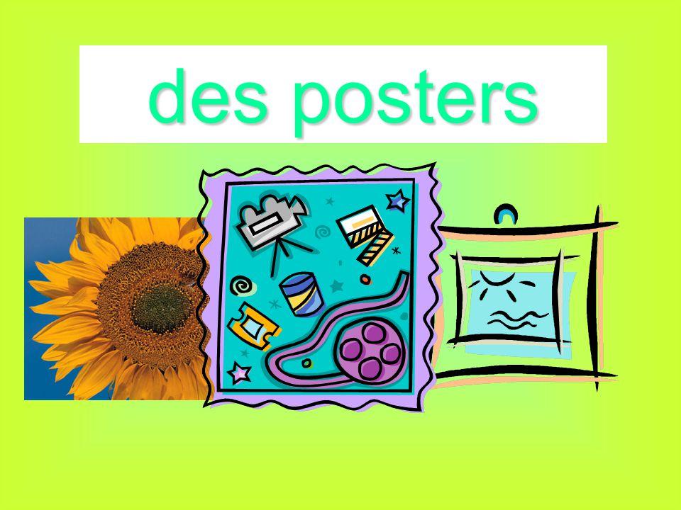 des posters