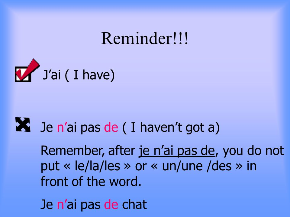 Reminder!!.