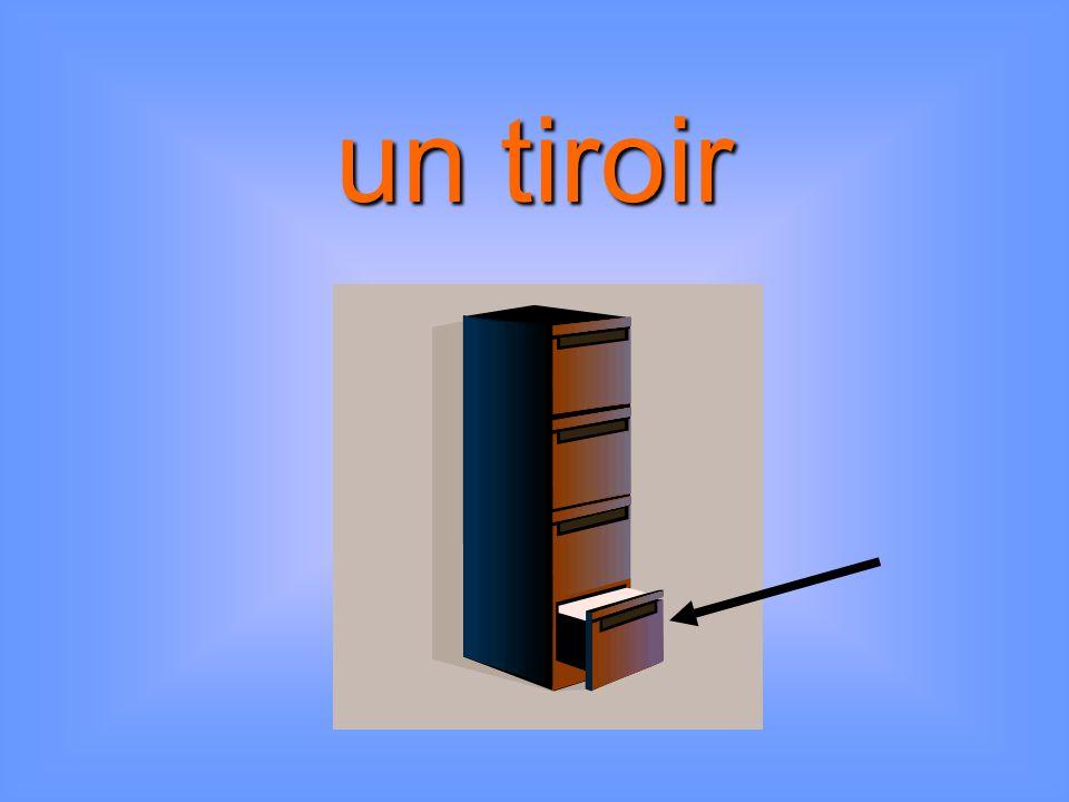 un tiroir