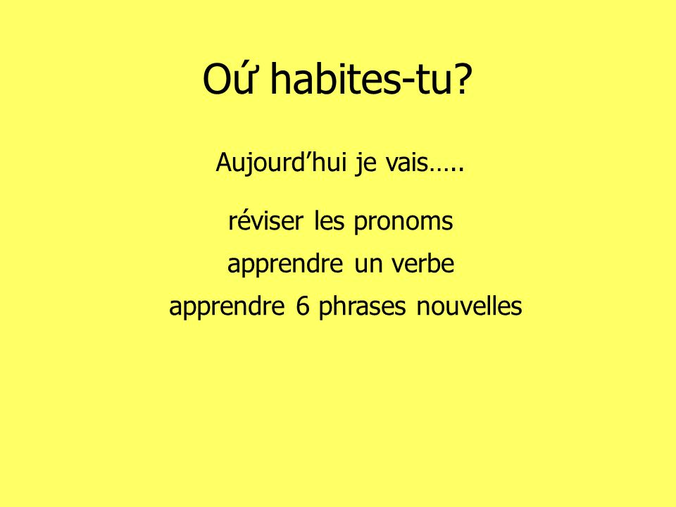 habiter = to livecest linfinitif!!.