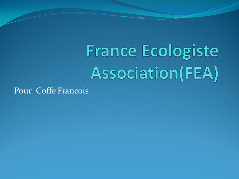 Pour: Coffe Francois