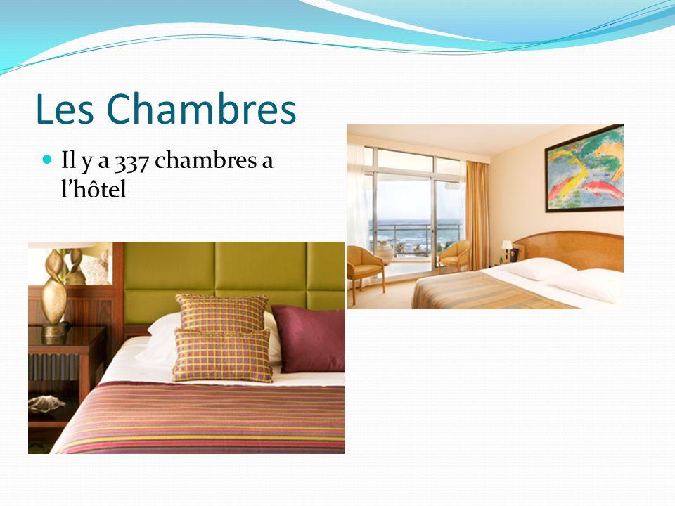 Les Chambres Il y a 337 chambres a lhôtel
