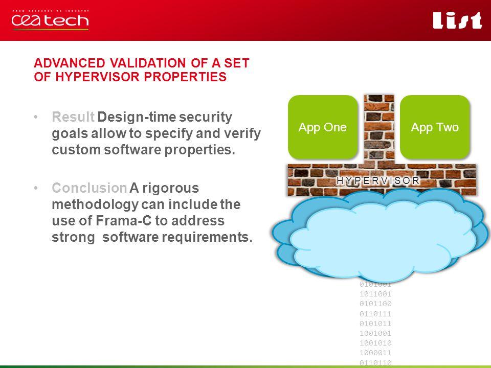 Pour personnaliser « nom événement et auteur » : « Insertion / En-tête et pied de page » Personnaliser la zone de de pied de page Cliquer sur appliquer partout Result Design-time security goals allow to specify and verify custom software properties.