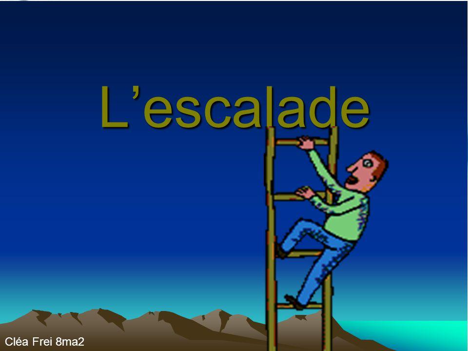 Lescalade Cléa Frei 8ma2