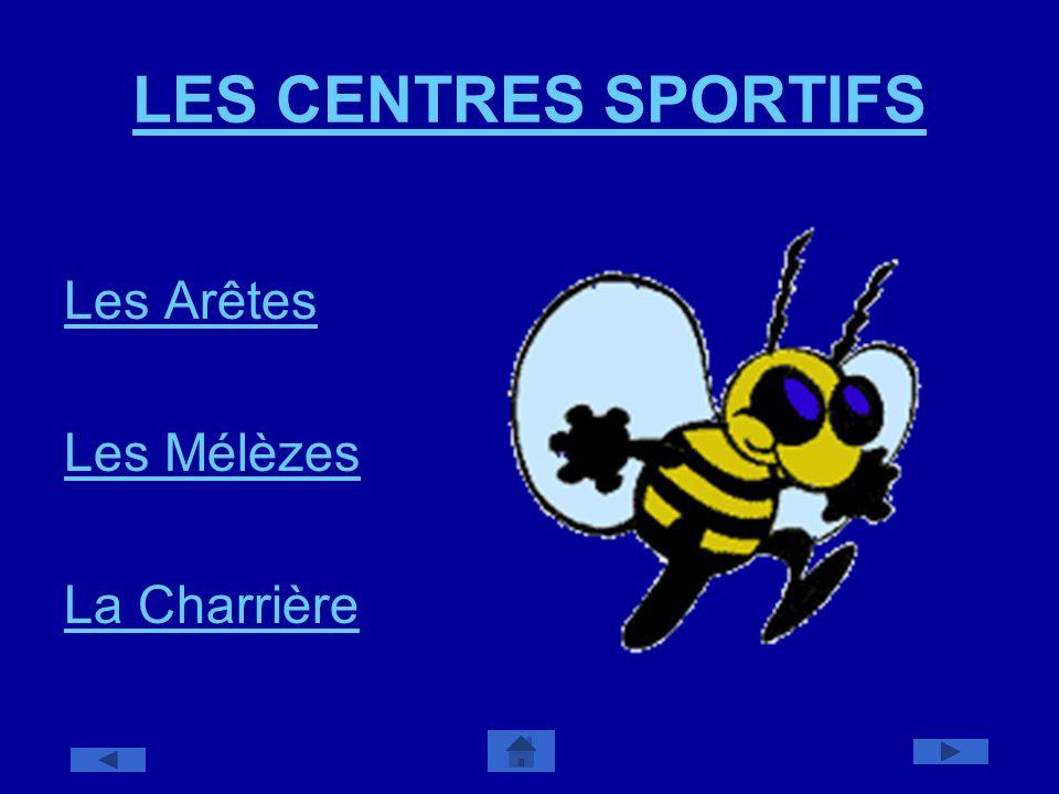 LES CENTRES SPORTIFS Les Arêtes Les Mélèzes La Charrière