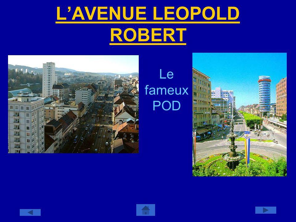 LAVENUE LEOPOLD ROBERT Le fameux POD