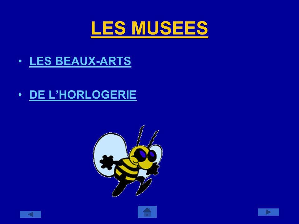 LES MUSEES LES BEAUX-ARTS DE LHORLOGERIE