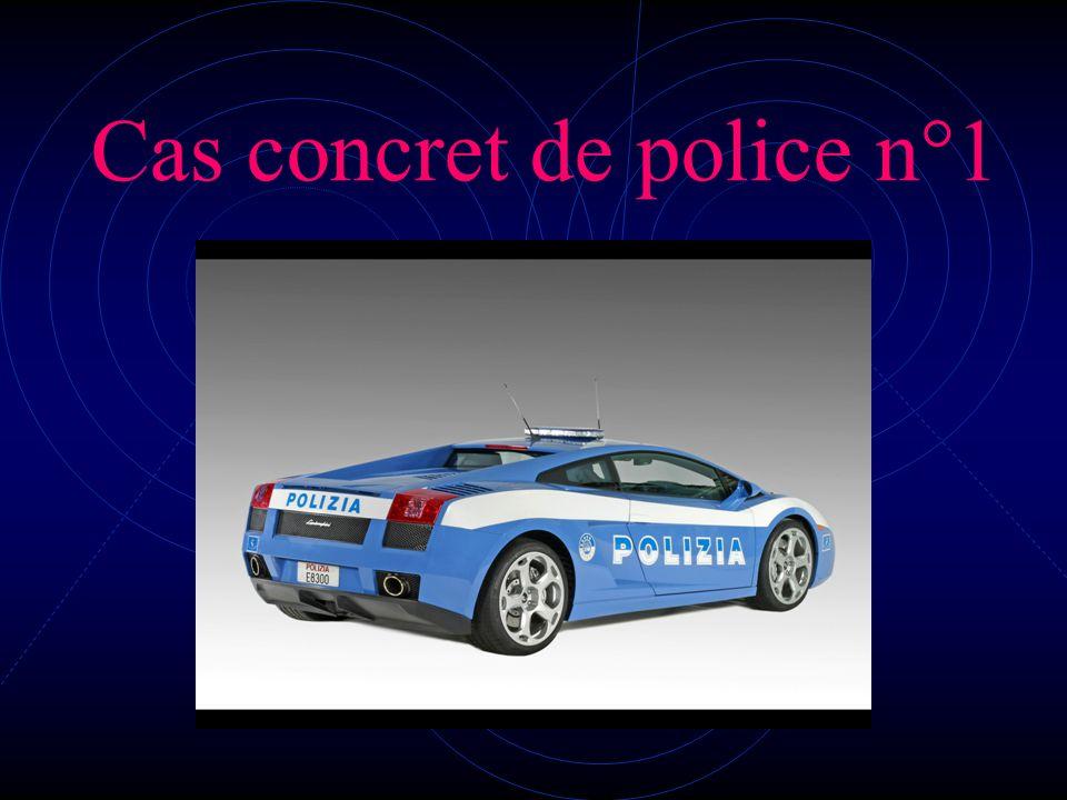 Cas concret de police n°1