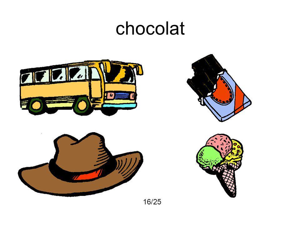 chocolat 16/25