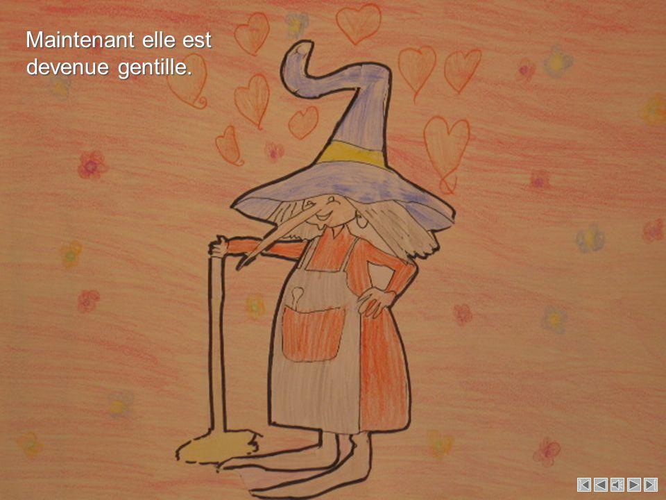 Pour faire la sorcière gentille !