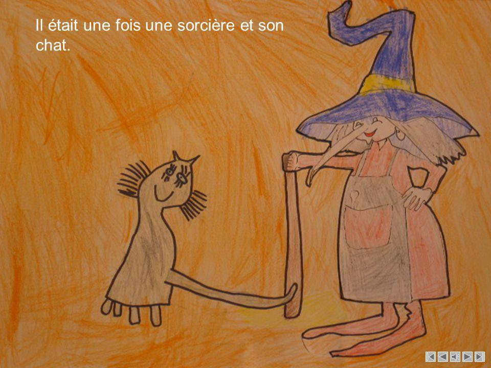 La sorcière Dessins par la classe 1PRO61 Réécrite par la première enfantine