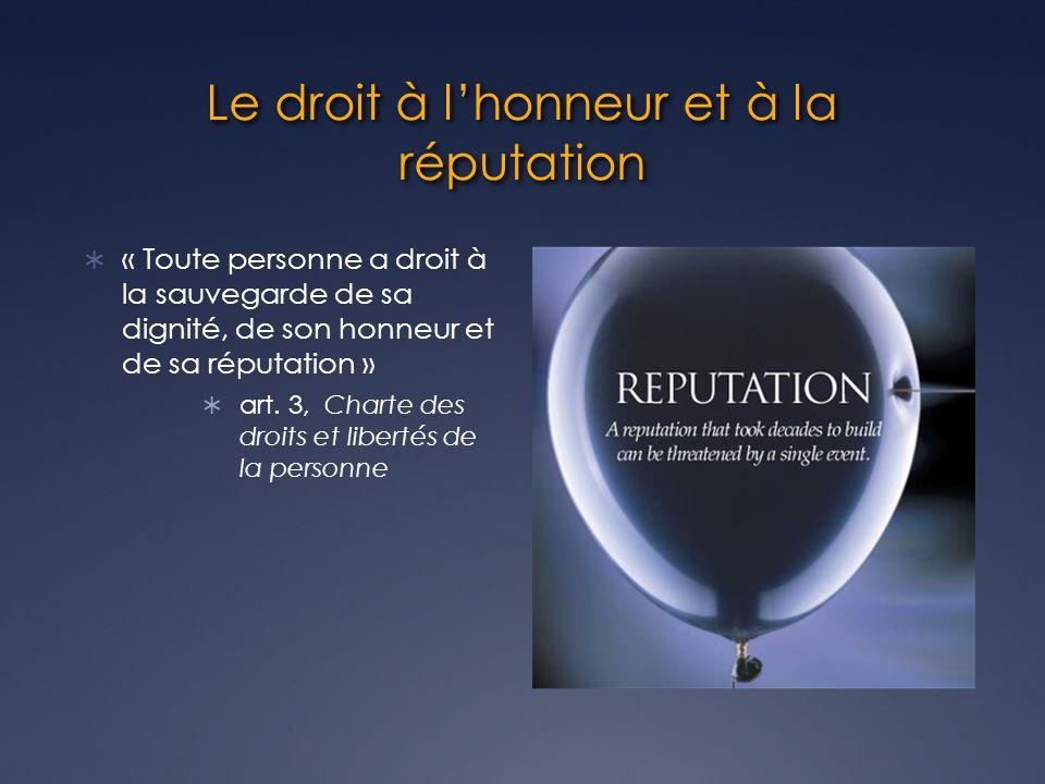 art.3 CCQ 3.