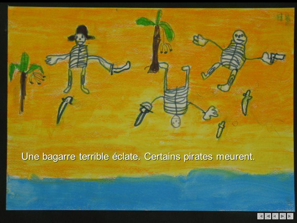 Les pirates reviennent sur lîle. Les pirates reviennent sur lîle.