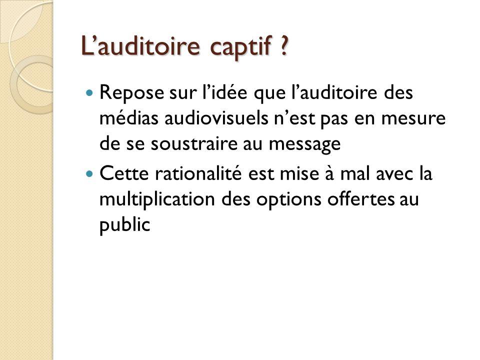 Les autres limites de la liberté de laudiovisuel La sauvegarde de lordre public Les exigences du service public La responsabilité Léquilibre Le pluralisme