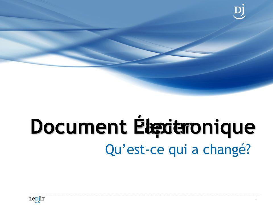 Papier vs. Document Électronique 5