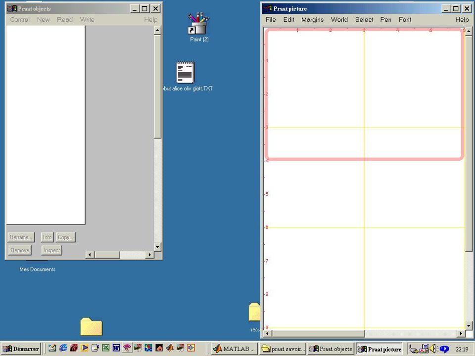 Ici seront stockés temporairement les (noms des) fichiers lus ou crées pendant la session de travail.