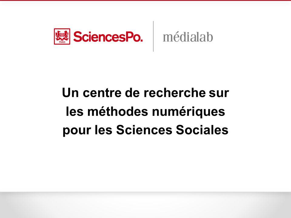 La fondation du médialab Fondé en mai 2009 Comme centre de recherche numérique au service de Sciences Po et des sciences sociales.