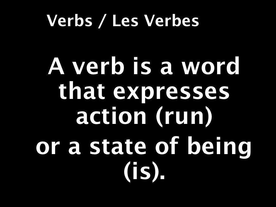 STEP 4 Add the following endings to the stem: je [stem]s nous [stem] ons tu [stem] s vous [stem] ez *il/elle/on [stem]* ils/elles [stem] ent * Add nothing; leave stem only