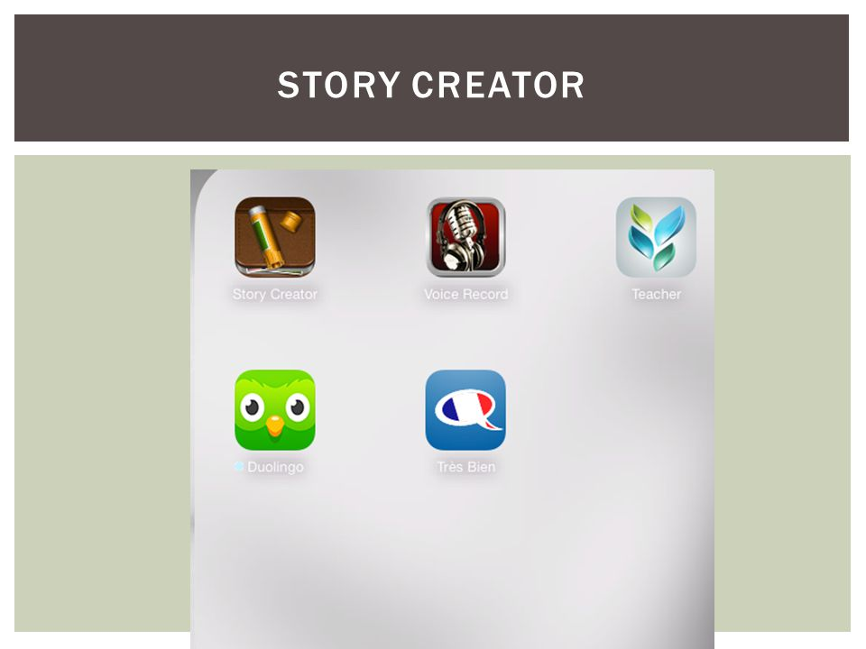 STORY CREATOR