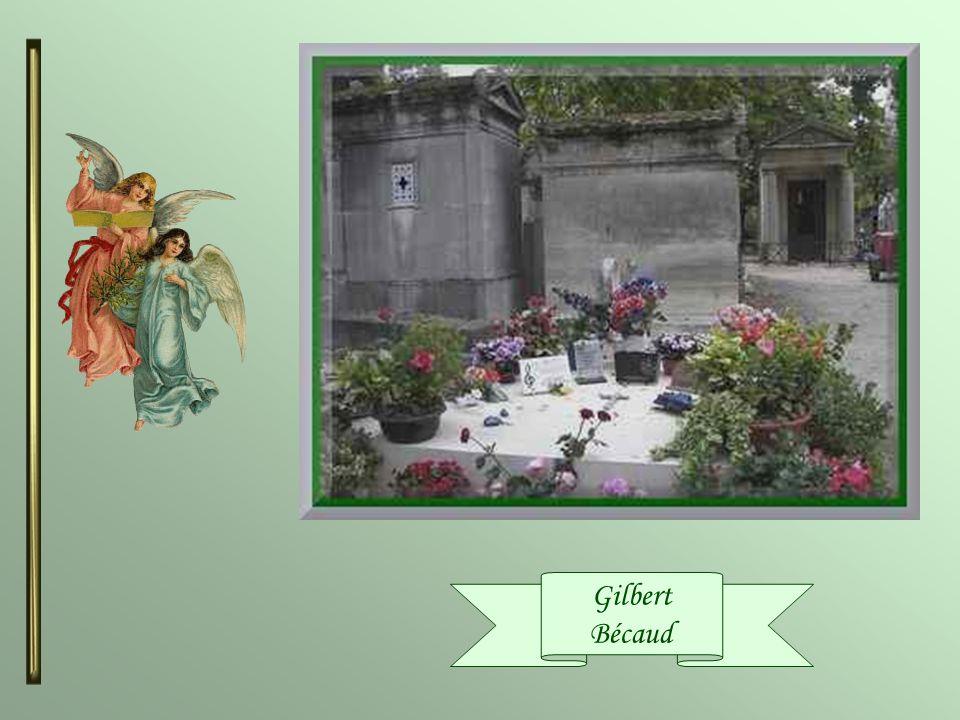 Gilbert Bécaud ( 1927-2001 ) Il fut chanteur compositeur, pianiste et acteur. Sa célèbre cravate à pois qui était son fétiche a une histoire. Jeune, G
