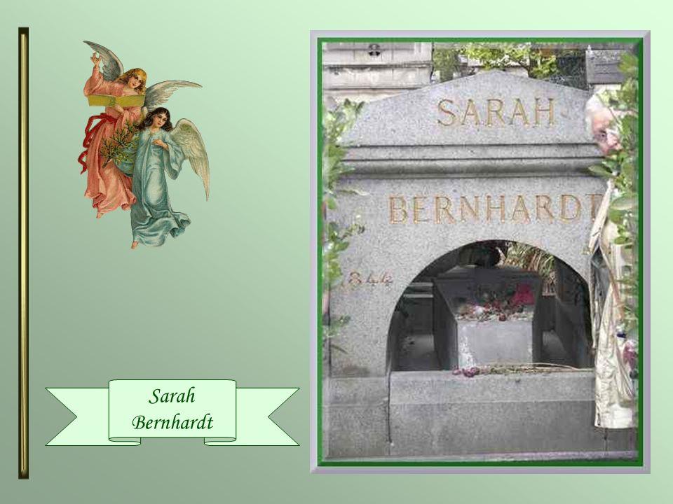 Sarah Bernhardt ( 1844-1923 ) De son vrai nom, Henriette Rosine Bernardt, elle était une actrice de théâtre française. On la surnommait la « Voix dor