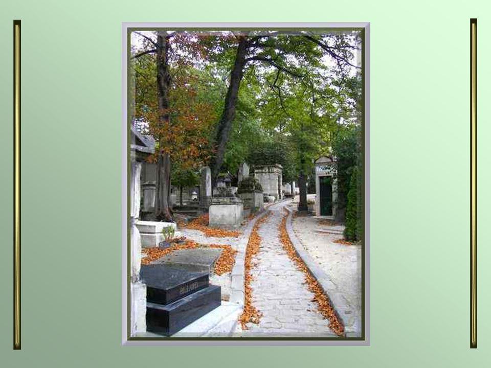 Je vous offre, à nouveau, une promenade parmi les tombes de personnages illustres reposant dans ce cimetière. Cette fois, ce lieu était aux couleurs d