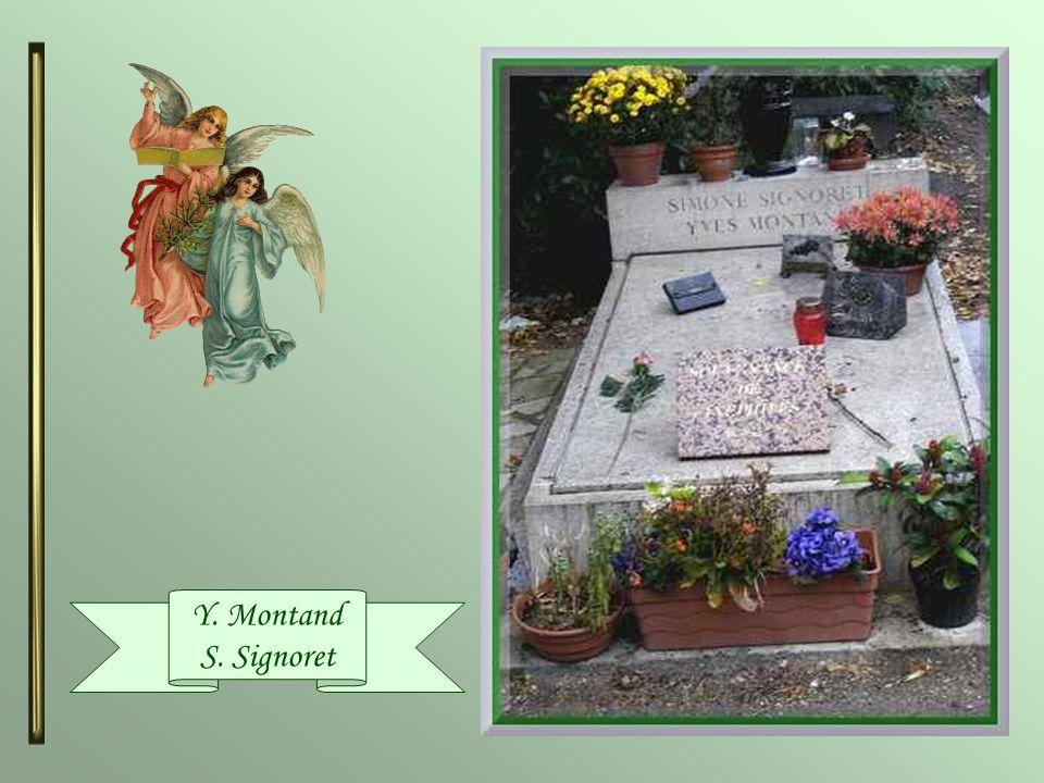 Yves Montand (1921-1991) & Simone Signoret (1921-1985) Tous deux ont formé un couple mythique du cinéma français, unis dans la vie. Yves Montand, dori