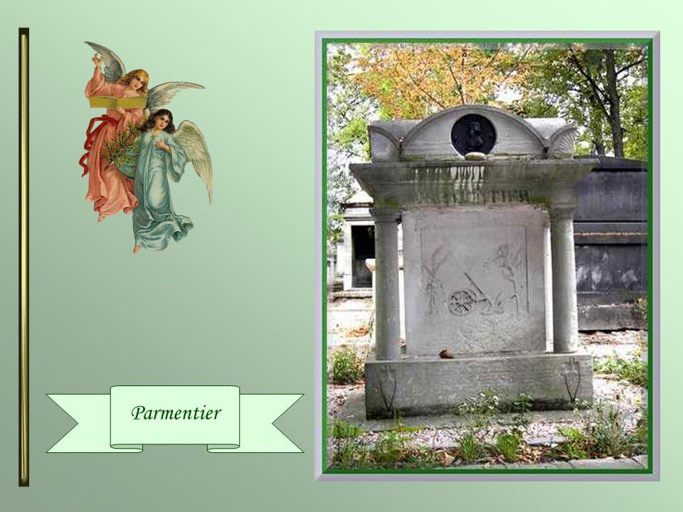 Antoine Augustin Parmentier (1737-1813) Il était un agronome, nutritionniste et hygiéniste français. En 1771, il publia un mémoire sur la pomme de ter