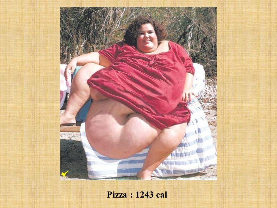 Pizza : 1243 cal
