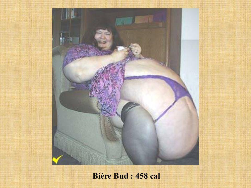 Bière Bud : 458 cal